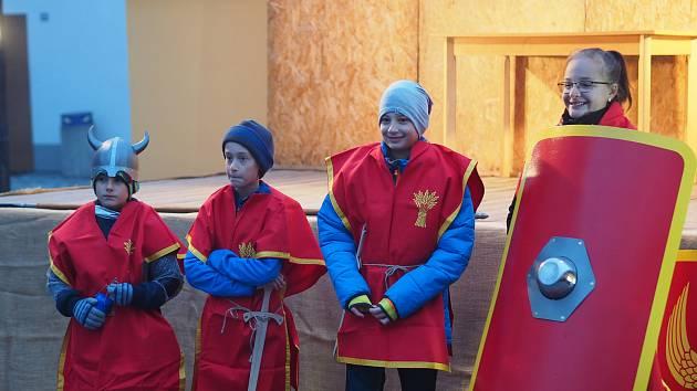 Už tradiční akcí se stal Svatomartinský průvod v Borovanech. Tentokrát se uskutečnil v neděli 10. listopadu.
