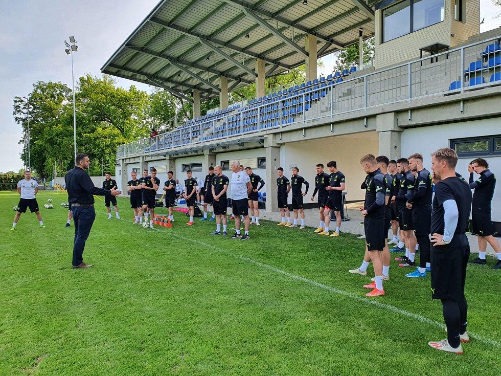 Fotbalová reprezentace ČR U21 v Hluboké nad Vltavou