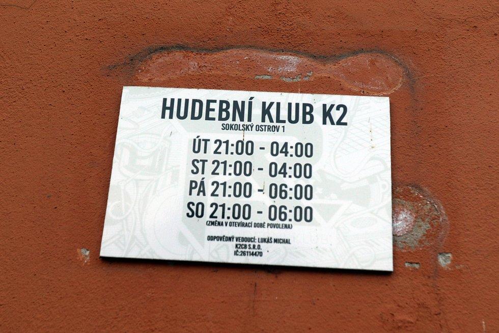 Hudební klub K2 v Českých Budějovicích.