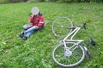 Na cizím kole se proháněl třicetiletý bezdomovec, kterého zastavili strážníci ve Čtyřech Dvorech.