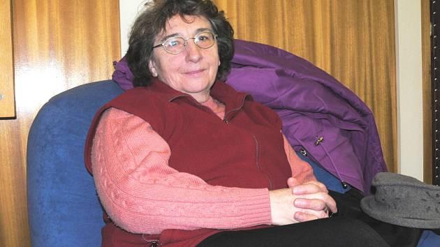 Marie Turková bere jako samozřejmost, že dochází jako dobrovolnice do prachatického hospice.