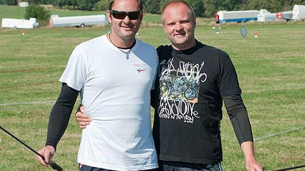 Bratři Josef (vlevo) a Jan Luxové.