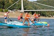 Poprvé v historii tituly z mistrovství České republiky v paddleboardingu