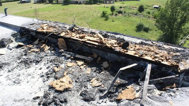 Bez větších škod a bez zranění se obešel páteční požár v českobudějovickém Domově pro seniory U Hvízdala.