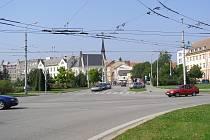 Senovážné náměstí v Českých Budějovicích v současnosti.
