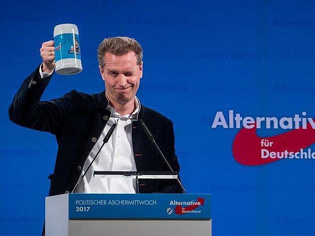 Předseda bavorské AfD Bystroň není jedničkou.