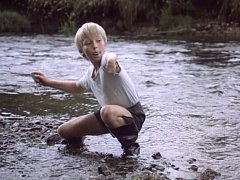 Snímek z filmu Divoký koník Ryn.