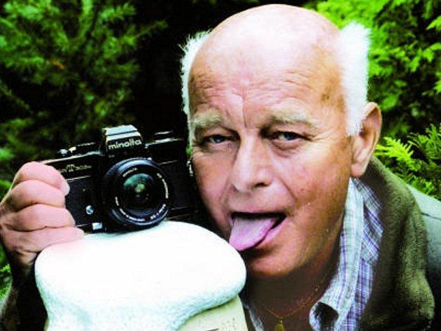 František Dostál patří k těm fotografům, kteří neodmítají ve svých snímcích humor.