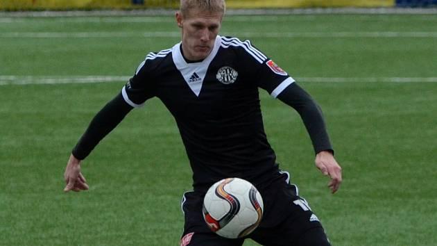 Michal Škoda v zápase Dynama s Vlašimí (4:1) v Tipsport lize vstřelil tři góly.