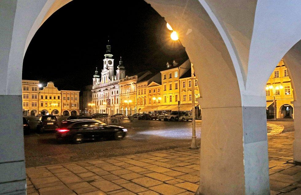 Českobudějovické náměstí.