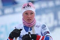 Obojživelnice Bára je na snímku na MS v Lahti.