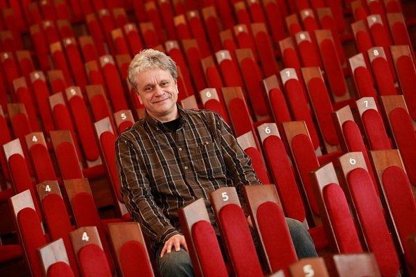 Otakar Svoboda, ředitel Jihočeské komorní filharmonie.