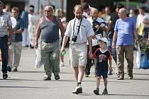 V loňském roce navštívilo českobudějovické výstaviště  při akci Země živitelka přes 100 tisíc náštěvníků. Hlavní nápor očekávají pořadatelé o víkendu.