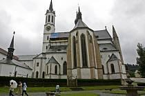 Cisterciácký klášter Vyšší Brod.