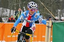 DÁMA NA KOLE. Prachatická lyžařka Kateřina Hanušová – Nashová se v USA věnuje cyklistice. V úvodu roku se zúčastnila MS v Táboře, obsadila čtvrtou příčku.