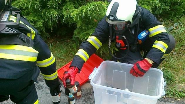 V úterý odpoledne evakuovali hasiči 34 lidí z Entomologického ústavu Biologického centra Akademie věd ČR v Českých Budějovicích.