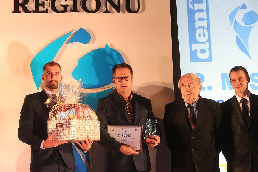 Slavnostní vyhlášení Sportovce regionu 2019.