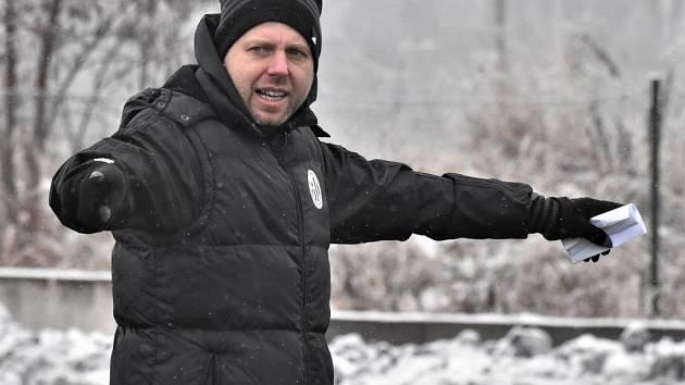 Trenér David Horejš povede fotbalisty Dynama v prvních přípravných utkáních roku v Praze proti Spartě.