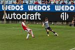Fortuna liga, fotbal, Dynamo České Budějovice - SK Slavia Praha Foto: Deník/Dan Kubát