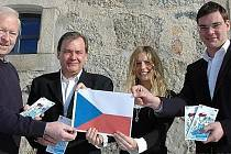 Ředitelé a manažeři projektu: zleva Seidl, Hippmann, Freyová a Gruber.