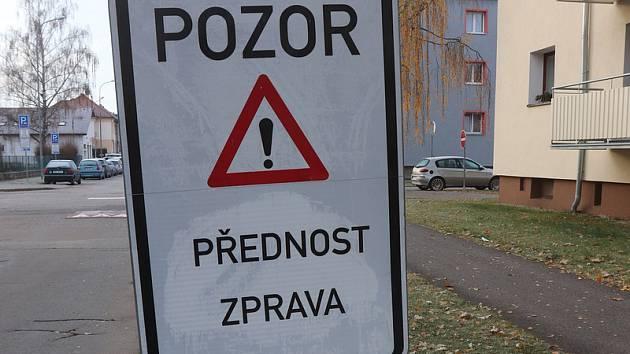Modré čáry na Pražském předměstí
