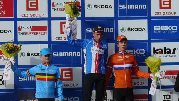 Adam Ťoupalík z CT ČEZ Tábor vyhrál závod SP