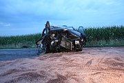 Tragická nehoda na Třeboňsku si vyžádala 3 zmařené životy.