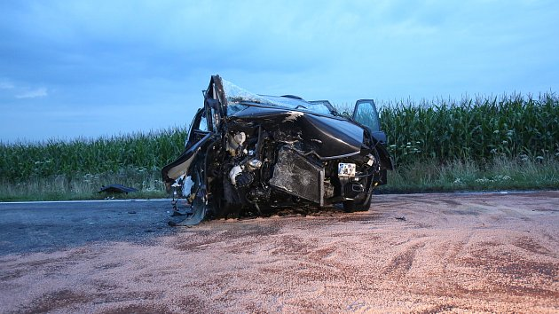 Nehoda v Břilici