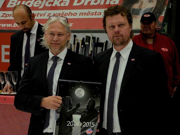 Stanislav Bednařík (vlevo) s Romanem Turkem
