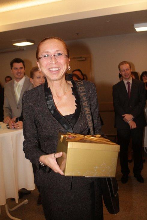 Slavnostní večer k ukončení třetího ročníku projektu Chováme se odpovědně. Na snímku je Pavla Bublíková, finanční ředitelka společnosti Vodňanské kuře.