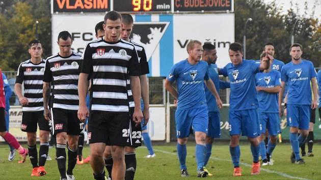 Fotbalisté Dynama ve Vlašimi neuspěli, prohráli tam 1:2.