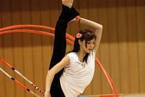 Gymnastky SKMG Máj Č. Budějovice uspořádaly i v roce 2007 další ročník populární mezinárodní gymnastické soutěže. S chutí, ale pouze exhibičně,  si  zacvičila i olympionička Dominika Červenková.