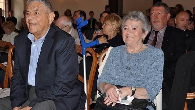 Vzpomínkové akce se zúčastnili také Petr Liebl a Hana Tvrská.