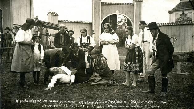 Na letním bytě: foceno 28. 8. 1921. Všechny fotografie pochází z archivu Městského muzea Týn nad Vltavou