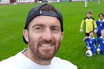 Jan Meidl, kapitán A týmu FK Olympie Týn n.Vltavou Týn nad Vltavou.