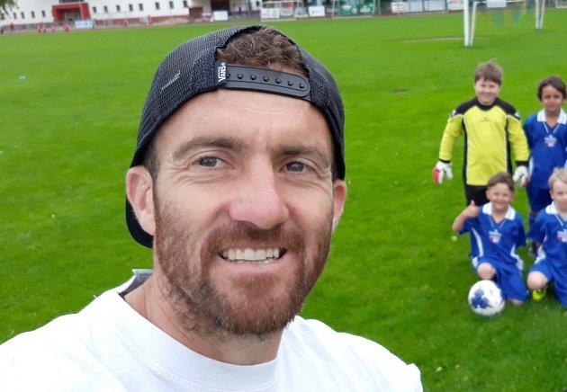 Jan Meidl, kapitán Atýmu FK Olympie Týn n.Vltavou Týn nad Vltavou.