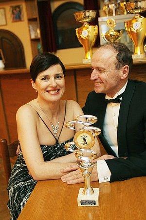 Taneční pár Eva a Josef Stehlíkovi letos získali čtvrté místo na mistrovství světa vAntverpách.