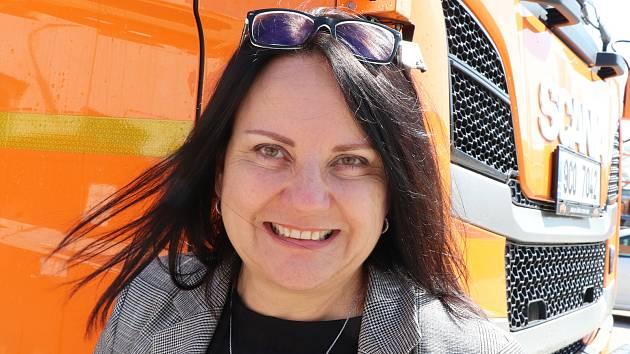 Andrea Jankovcová, ředitelka Správy a údržby silnic Jihočeského kraje.