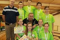 V kuželkách druzí, celkově ale první. 13. ročník soutěže škol o Pohár primátora vyhrála ZŠ Oskara Nedbala v Českých Budějovicích.