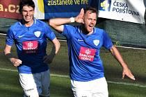 Zbyněk Musiol dvěma góly z penalt zařídil pro táborsko výhru nad Žižkovem.