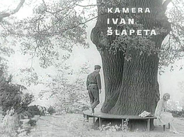 Ivan Šlapeta se dostal ke kameře filmu během natáčení.
