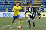 Fotbalisté Dynama vyhráli ve Zlíně 3:2 (na snímku v akci budějovický Pavel Šulc).