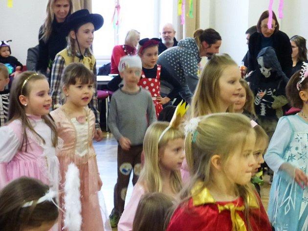 Karneval v Nových Hradech.