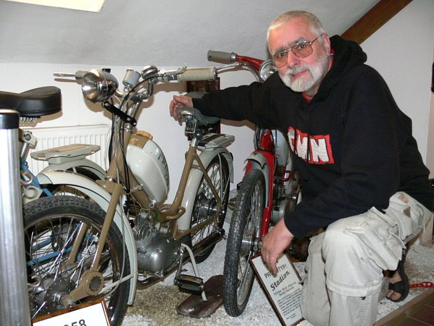 Motocyklové muzeum v Českých Budějovicích. Petr Hošťálek