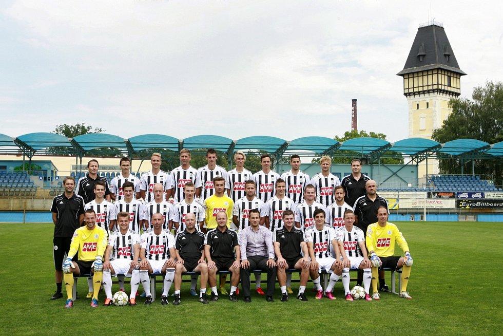 Tisková konference a fotografování A týmu Dynama České Budějovice před zahájením sezóny 2. ligy 2013/2014.