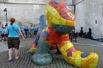 Hledá se jméno pro Zvíře z Piaristického náměstí