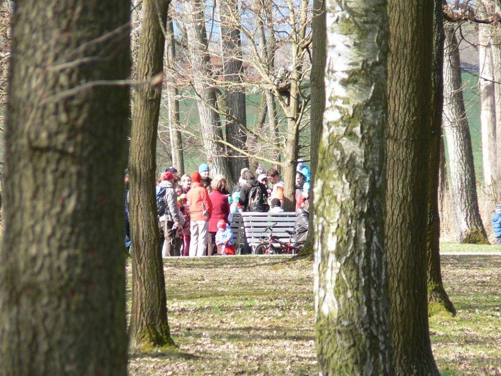 Českobudějovický park Stromovka je domovem desítek ptačích druhů. Konají se sem i ornitologické vycházky.
