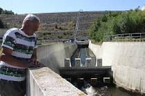 Římovská přehrada.