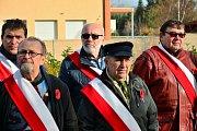 Pietní vzpomínkovou akci u příležitosti Dne válečných veteránů uspořádal v sobotu Spolek bývalých vojáků Veteráni v Týně nad Vltavou.