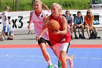 Basketbalová hra 3x3. Ilustrační foto.